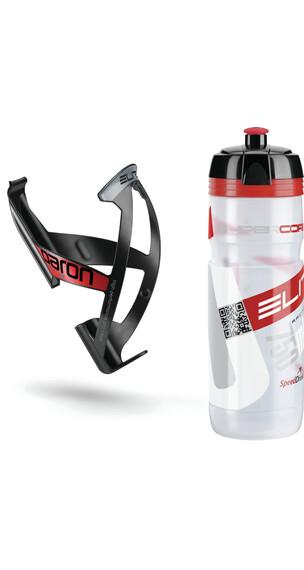 Elite Kit Supercorsa/Paron - Sistema de hidratación - 750 ml rojo/negro